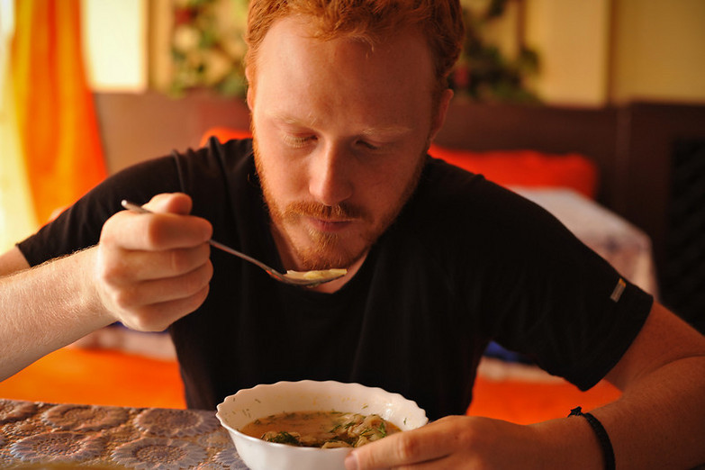 eating _soup